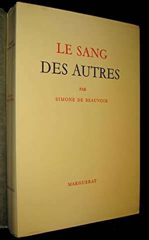 Le Sang des autres.: BEAUVOIR, Simone de