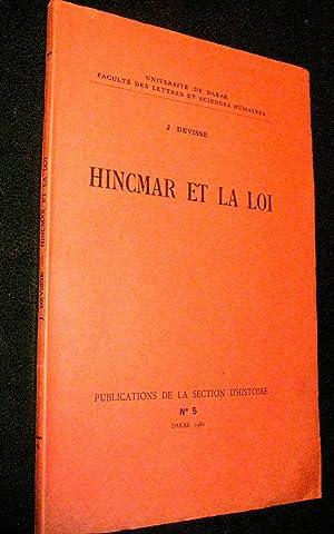Hincmar et la loi.: DEVISSE, J.