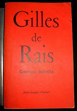 Le Procès de Gilles de Rais. Les Documents: BATAILLE, Georges