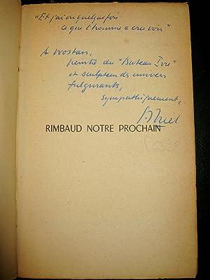 Rimbaud notre prochain.: BRIET, Suzanne