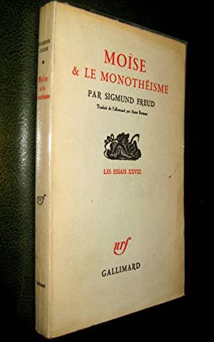 Moïse et le monothéisme.: FREUD, Sigmund