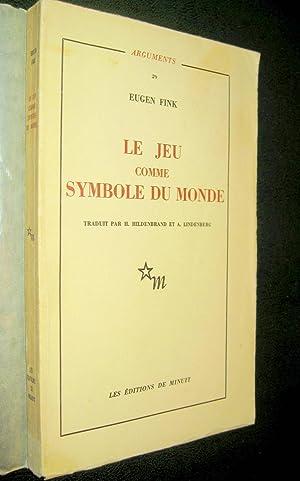 Le Jeu comme symbole du monde.: FINK, Eugen