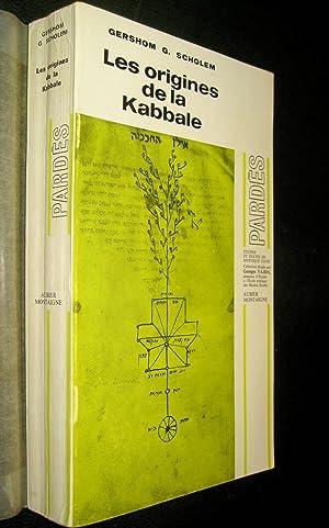 Les Origines de la Kabbale.: SCHOLEM, G.G.