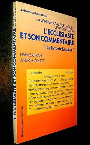 La Version arabe de la Bible de: ZAFRANI, Haim et