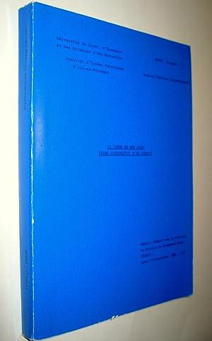 Le Thème de don Juan. Etude comparative d'un corpus.: MORSY, Seymour