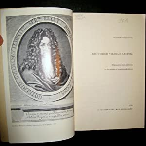 Gottfried Wilhelm Leibniz. Philosopher and politcian in a service of a universal culture.: ...