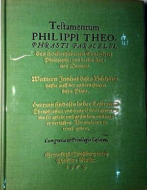 Paracelse. Introduction à la médecine philosophique de la Renaissance.: PAGEL, Walter