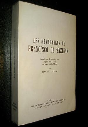 Les Memorables de Francisco de Enzinas: ENZINAS, Francisco de (& Jean de SAVIGNAC, trad.)