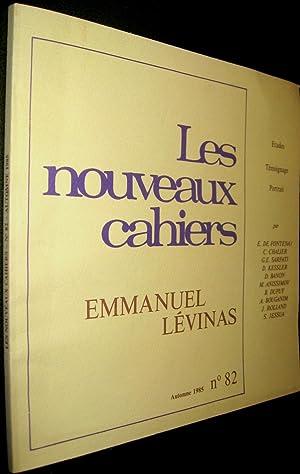 Les Nouveaux Cahiers, Automne 1985, N° 82 - Emmanuel Levinas - Etudes Témoignage ...