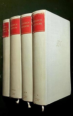 Werke in Drei Bänden (Erster Band, Zweiter Band, Dritter Band) et Nietzsche - Index zu den ...