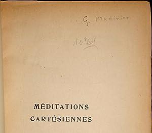 Méditations cartésiennes. Introduction à la phénoménologie.: ...