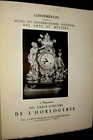 Les Chefs-d'œuvre de l'horlogerie - Conférences pronocées au Musée ...