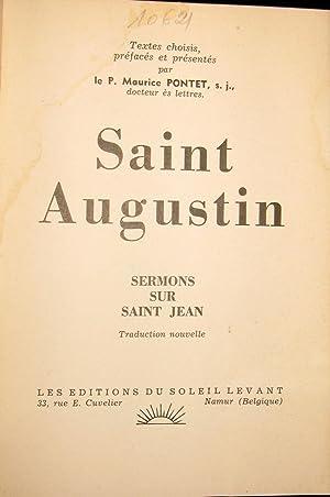 Textes choisis - Sermons sur Saint Jean: SAINT AUGUSTIN