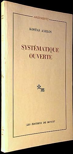 Systématique ouverte: AXELOS, Kostas