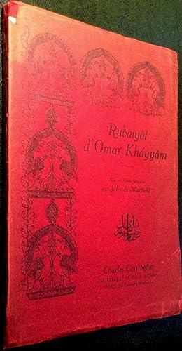 Rubaiyat d'Omar Khayyam.: KHAYYAM, Omar / MARTHOLD, Jules de