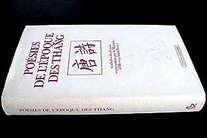 Poésies de l'époque des Thang. Précédé de l'Art po&...