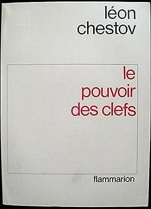 Le Pouvoir des clefs (Potestas clavium): CHESTOV, Léon/ [Benjamin FONDANE]