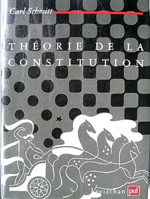 Théorie de la constitution.: SCHMITT, Carl