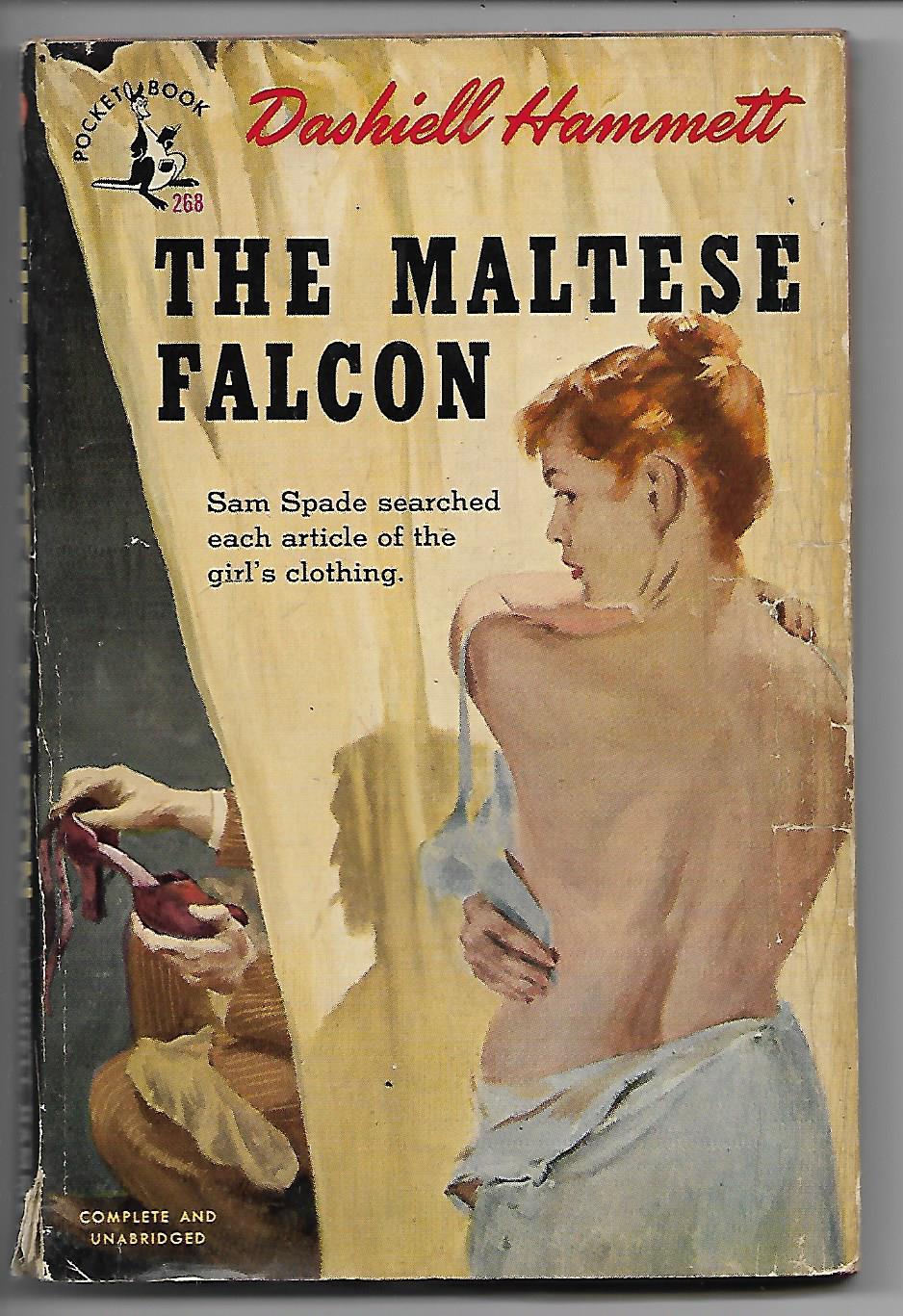 The Maltese Falcon Dashiell Hammett Very Good Softcover