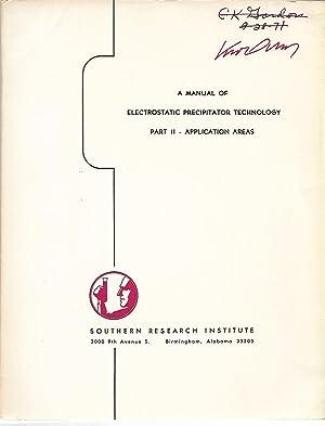 A Manual of Electrostatic Precipitator Technology, Part