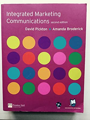 Integrated Marketing Communications + CD: David Pickton; Dr