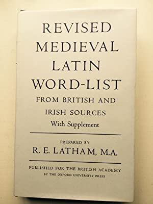 Revised Medieval Latin Word-List: from British and