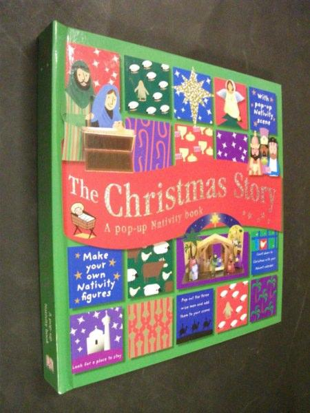 The Christmas Story Book.The Christmas Story A Pop Up Nativity Book