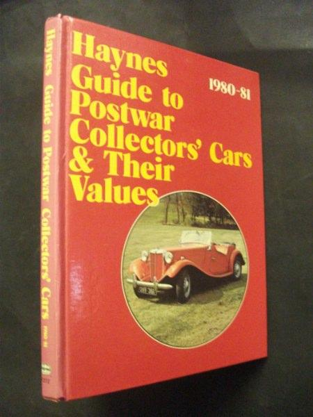 Collector Car Values >> Haynes Guide To Postwar Collectors Cars