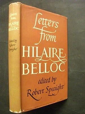 Letters from Hilaire Belloc: Hilaire Belloc, ed.