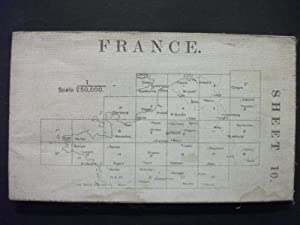 Map of France - Sheet 10