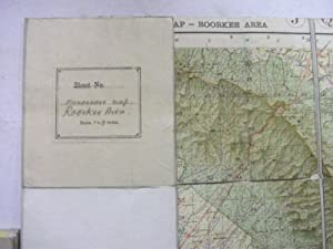 Manoeuvre Map of India: Roorkee Area -: N/a