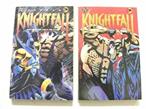 Batman: Knightfall Part 1 and Part 2 (Two vols).