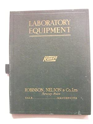 Laboratory Equipment, Ronel: Catalogue of Physical Apparatus for Schools and Universities