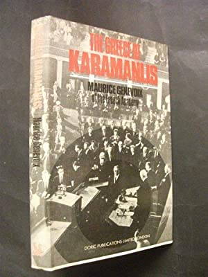 an analysis of the book the greece of karamanlis by maurice genevoix Shop from the world's largest selection and best deals for military, war paperback 1900-1949 non by maurice genevoix no 9: turkey, greece and the eastern mediterranean full title: oxford pamphlets on world affairs no 9: turkey, greece and the eastern mediterranean book.