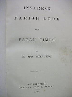 Inveresk Parish Lore from Pagan Times: R McD Stirling