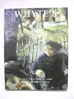 Whyte's Auction Catalogue: An Important Sale of Irish Art with a Selection of Works by British & ...