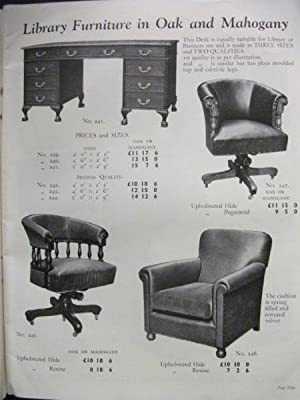 Partridge & Cooper: Modern Office Furniture: Catalogue No 538: n/a