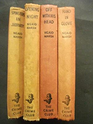 Off With His Head; Hand In Glove; Opening Night; Spinsters In Jeopardy: 4 vols