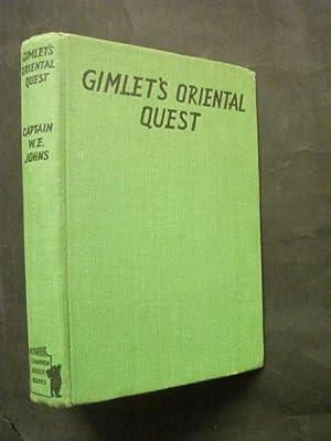 Gimlet's Oriental Quest: Captain W E