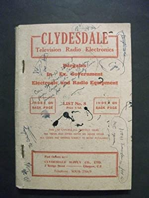 Clydesdale Television, Radio, Electronics: List No. 8