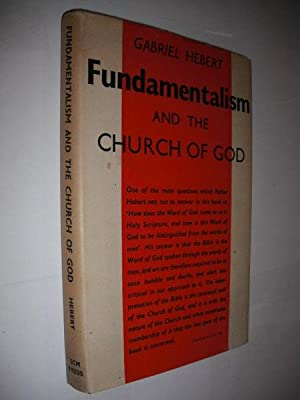Fundamentalism and the Church of God