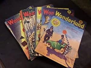 Wonderland: Vol 7, Nos 42-45, 47-53, 56, 61, 64, 67, 69, 71, 72. (18 vols)