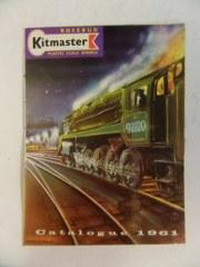 Kitmaster Plastic Scale Models Catalogue 1961