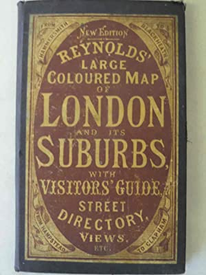 Reynolds' Large Coloured Map of London and: n/a