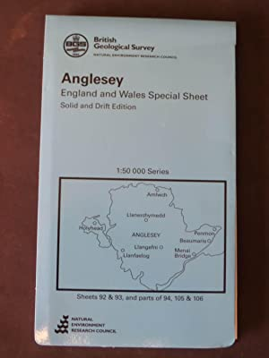 Anglesey, England and Wales Special Sheet, solid and drift edition