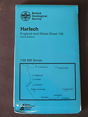 Harlech, England and Wales Sheet 135 - Solid Edition
