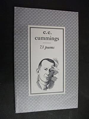 73 poems: cummings, e e
