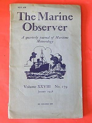 The Marine Observer - January 1958 -: Various