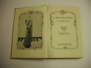 A Duet with Chorus: Conan Doyle, A