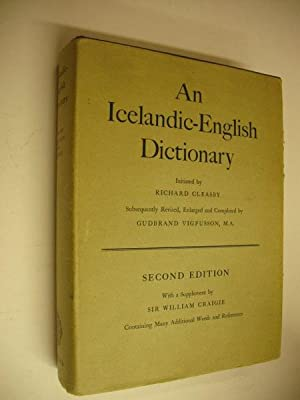 An Icelandic-English Dictionary: Richard Cleasby et